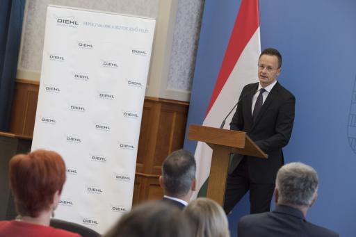 A kormány támogatja a Diehl Aircabin debreceni beruházását