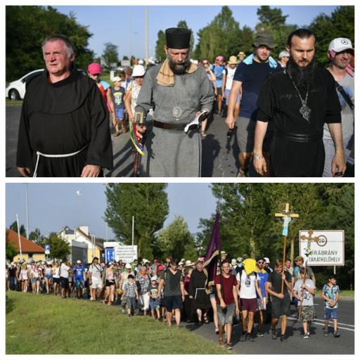 Magyarországra értek a görögkatolikus egyház ifjúsági zarándoklatának résztvevői