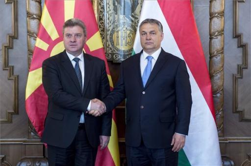 Orbán Viktor: Magyarország baráti érzelmekkel viseltet Macedónia iránt