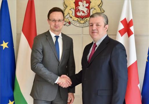 Magyarország támogatja Grúzia integrációját