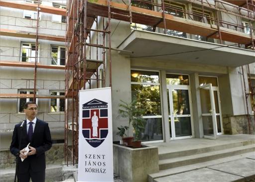 Felújítják a Szent János Kórház nővérszállóját