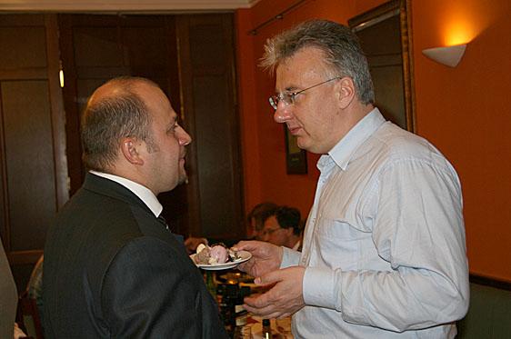 Semjén Zsolt és Olosz Gergely felsőháromszéki képviselő